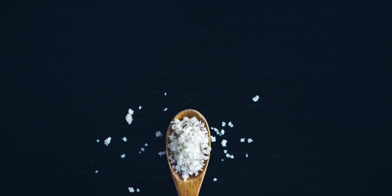 Sól: maksymalnie jedna płaska łyżeczka dziennie