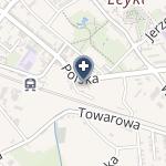 Centrum Leków Nowa Farmacja na Polskiej na mapie