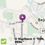 Apteka Malwa na mapie