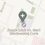 Adrianna Zagórska na mapie