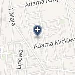 NZOZ Eskulap Zdzieszyński na mapie