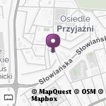 """""""Ewa"""" Domowa Opieka Pielęgniarska i Rehabilitacja na mapie"""