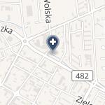 Centrum Rehabilitacji Fizjolek na mapie