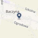 """""""Fizjo-Terapia"""" Baczyna Magdalena Trawińska-Jarząb na mapie"""