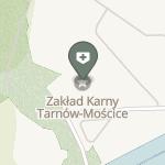 Ambulatorium z Izbą Chorych Zakładu Karnego w Tarnowie - Mościcach na mapie