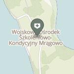 Sekcja Medyczna Wojskowego Ośrodka Szkoleniowo-Kondycyjnego Mrągowo na mapie