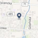 Klinica Estetica na mapie
